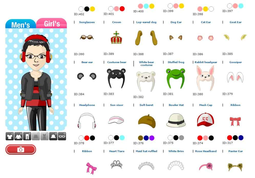 Avachara Anime Avatar Creator Web App - Portrait Maker