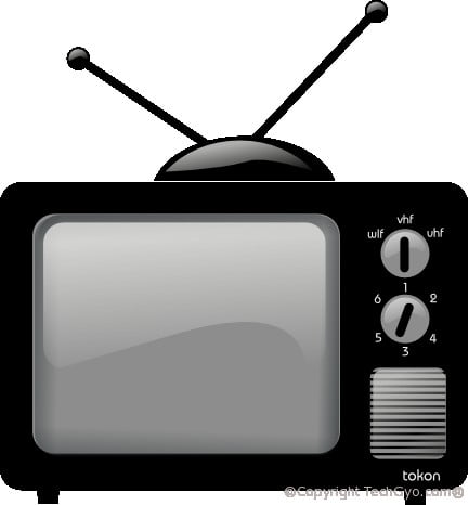 old classic television