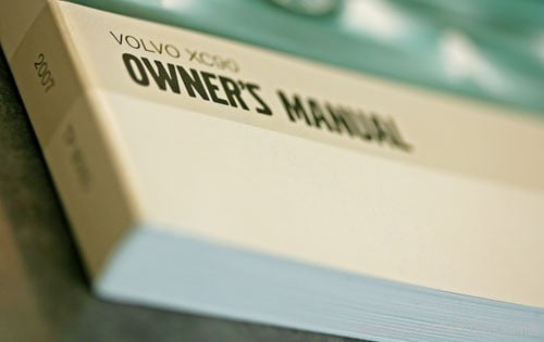 user owners manual