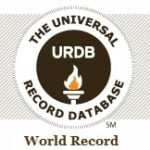 Register or Find World Records In The Universal Record Database.