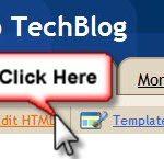 blogger page elements option