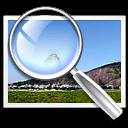 Binocular with image