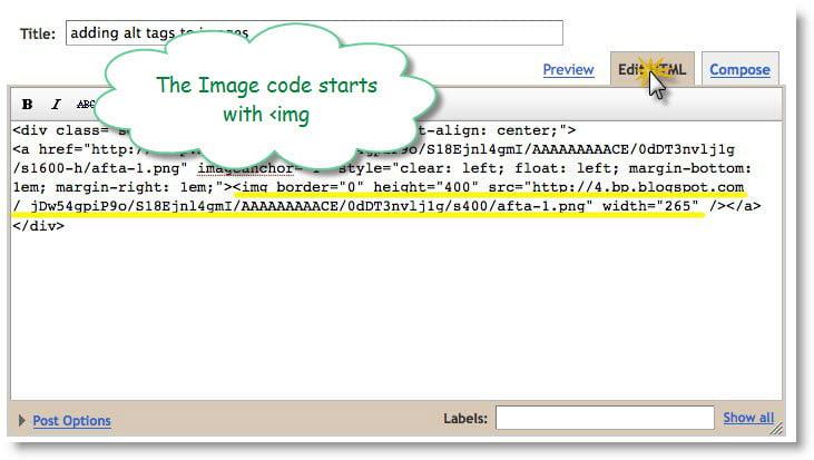 alt image code blogger.com blog post edit html