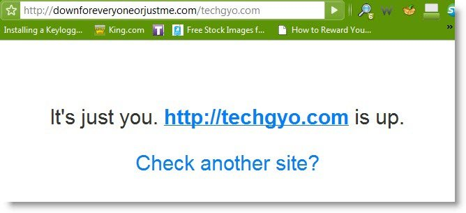 website is down for everyone or just you