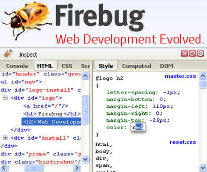 firebug lite chrome extension