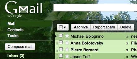 gmail theme  tree_tops