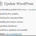 WordPress 3.1 Launched – New Floating Admin Bar, Revamped Dashboard color