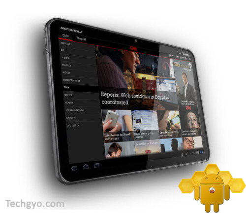 Android 3.0 Honeycomb tablets cnn app