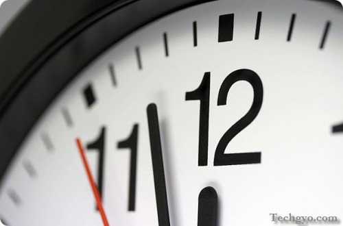blogging time management clock