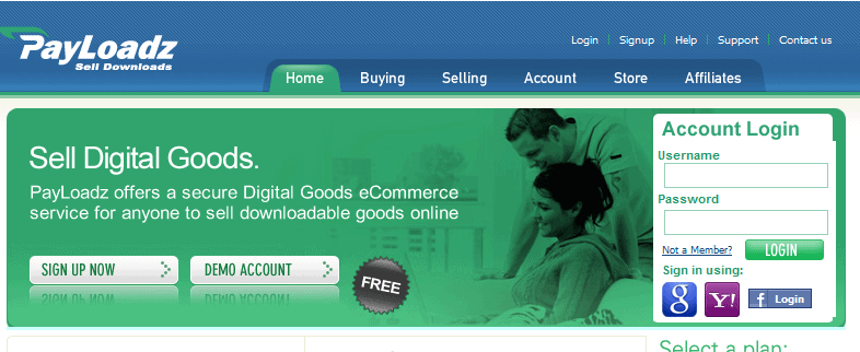payloadz home page