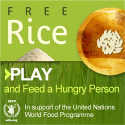 Freerice Vocabulary Game helps UN Donate Rice With Every Right Answer! 1
