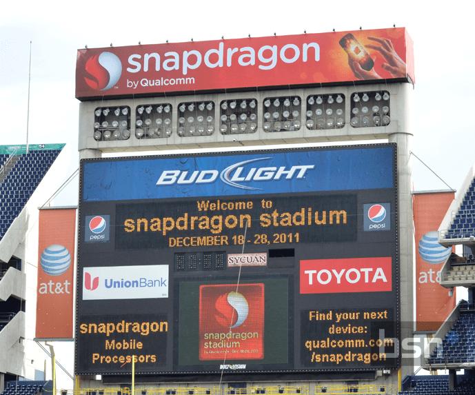 snapdragon stadium by qualcomm