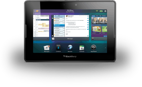 BlackBerry PlayBook Multitasking