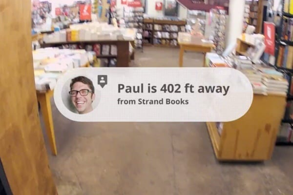 augmented reality  location tracking