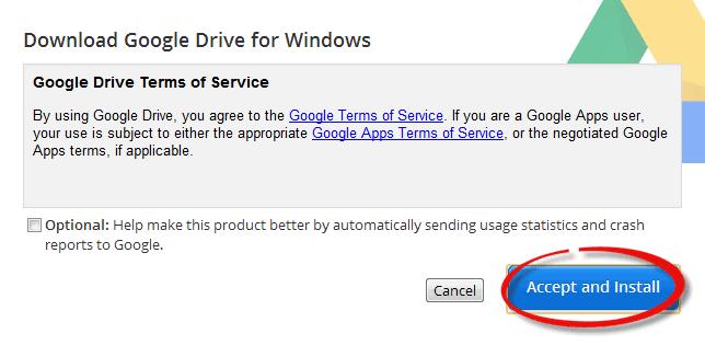 google drive client