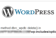 Fatal error Call to undefined method dbrc_wpdb delete()