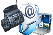 How does online fax work-Icon