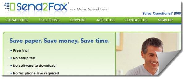 online fax service