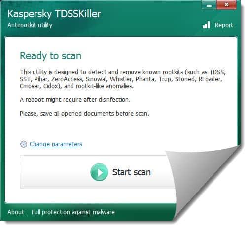 Kaspersky Labs TDSSKiller