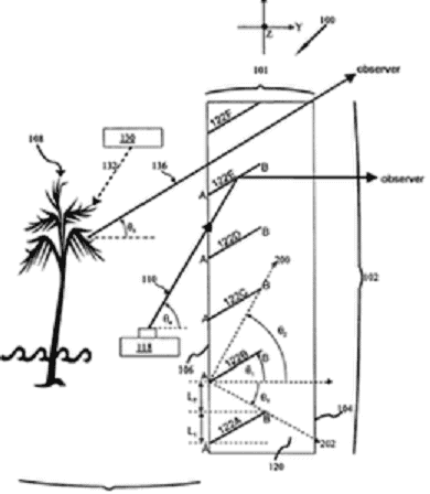 See Thorugh Screen- Slat System
