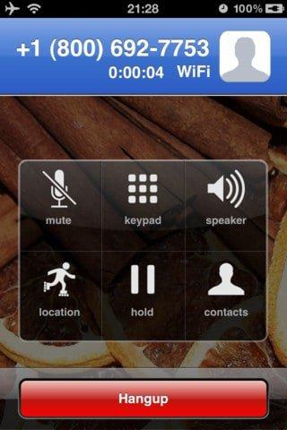 Talkatone- iPhone Screenshot