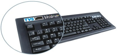 TVS Gold Bharat Keyboard