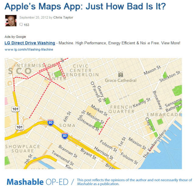 Apple s Maps App  Just How Bad Is It
