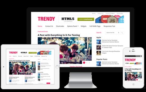 Trendy-WordPress-Theme