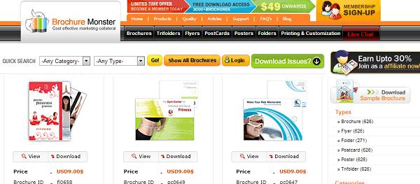 Top 5 Online Tools for Designing a Brochure 4