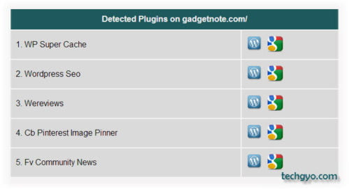 detect installed wordpress plugins