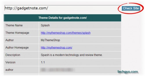 detect Installed WordPress Theme