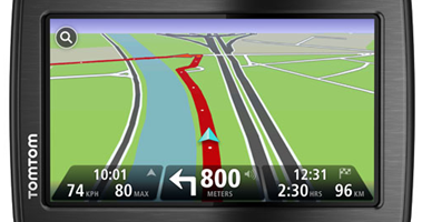 tomtom GPS device