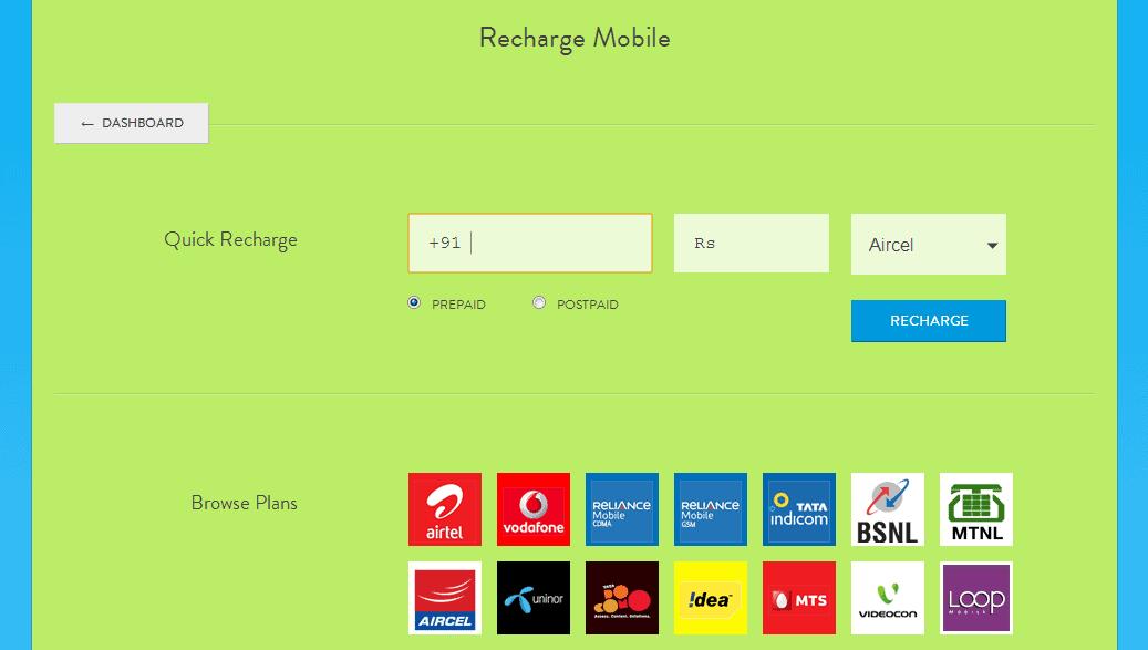 Mobikwik -Mobile Recharge