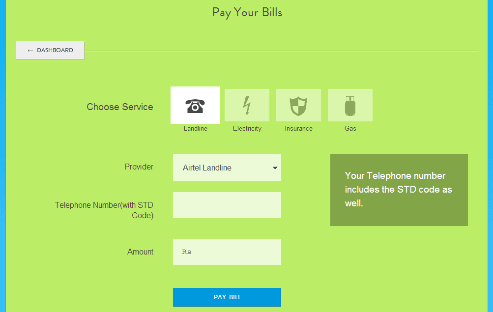 Mobikwik - Pay Other Bills