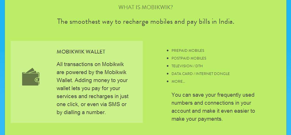 Mobikwik -Wallet