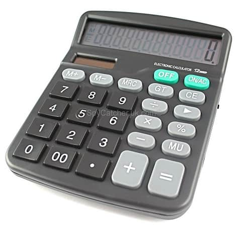 calculator voice recorder