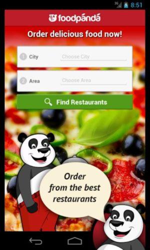 order foo online fodpanda