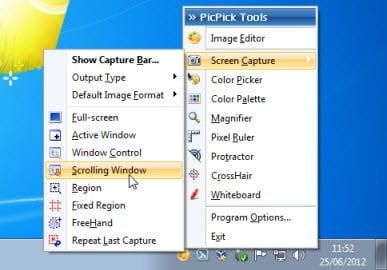 picpick_capture-options