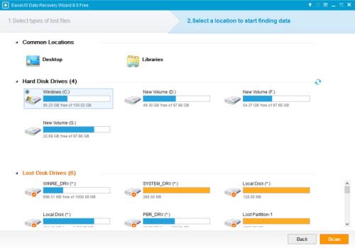 EaseUS Data Recovery Wizard 8.0 screenshot-2