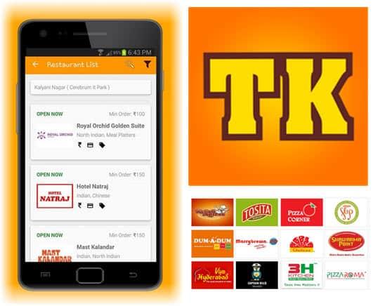 Restaurant order app android