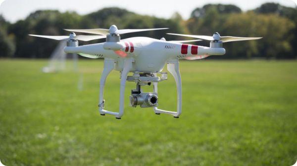 DJI Vision Plus quadcopter Drone