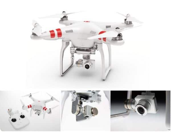 dji-vision plus quadcopter-drone