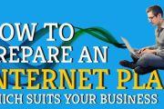internet marketing plan suits business