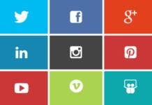 Colors and Social Media
