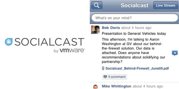 socialcast by vmware Enterprise Mobile Apps