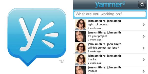 yammer Enterprise Mobile Apps
