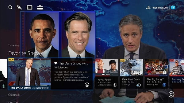 playstation vue video streaming