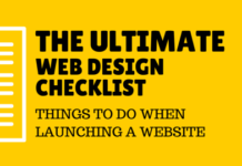 web design checklist for conversion