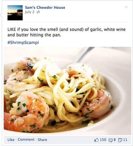 Engaging Facebook Posts social markting