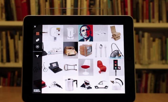 The design museum collection app for online learning